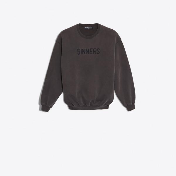 オーバーサイズ セーター 'Sinners'