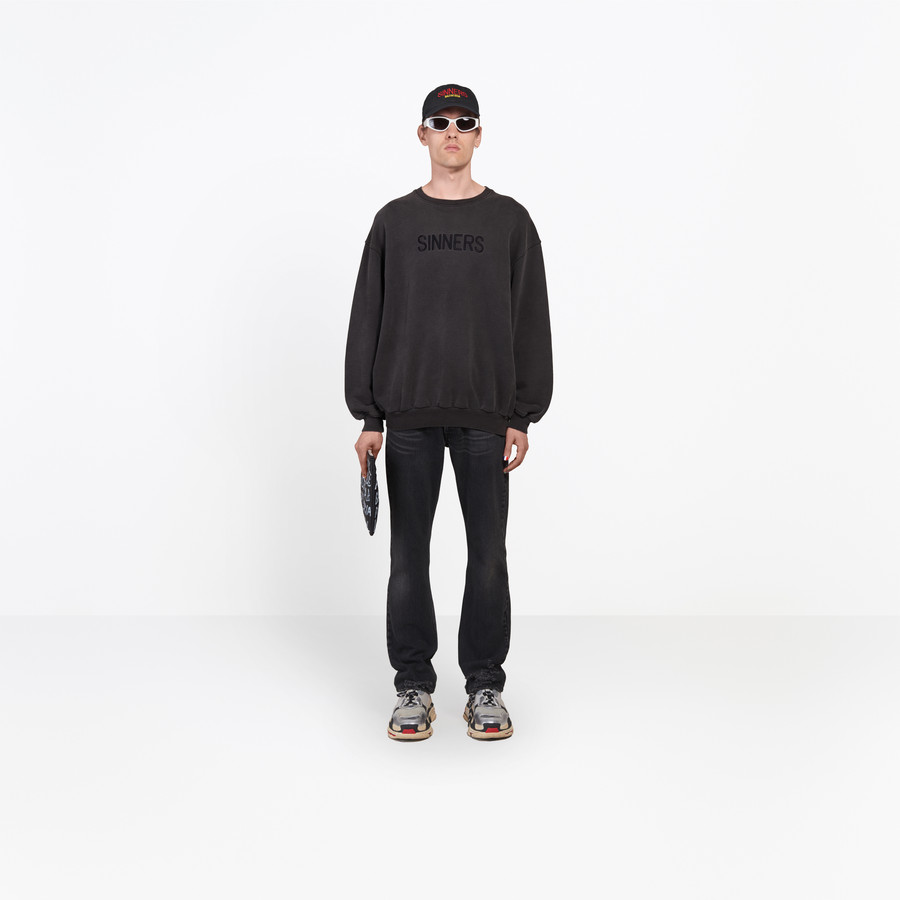 BALENCIAGA Oversize Sweater 'Sinners' Top Man g