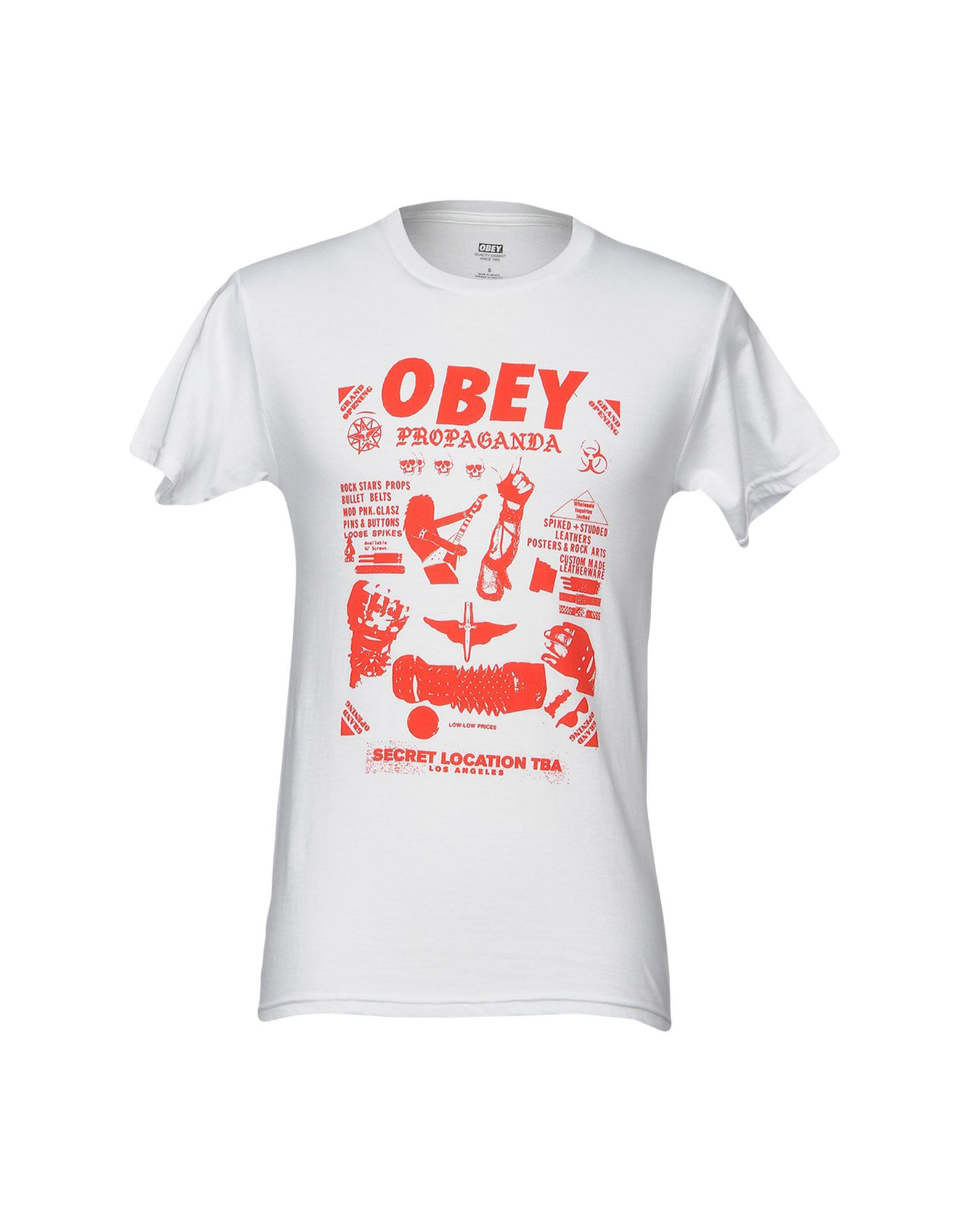 OBEY PROPAGANDA Футболка футболка obey propaganda flower sack light grey l