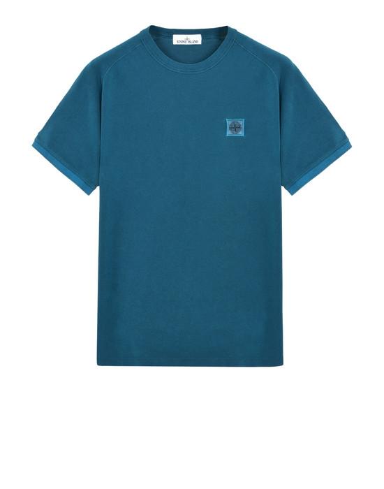 T-Shirt 23167 PIGMENT DYE STONE ISLAND - 0