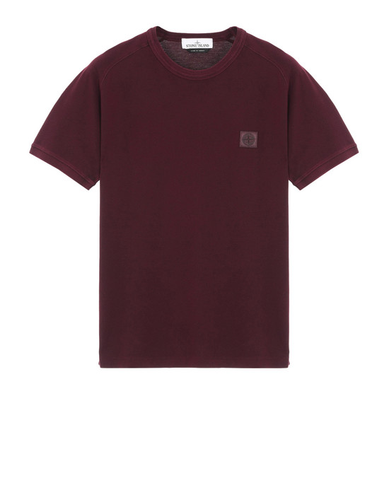 STONE ISLAND T-shirt manches courtes 23167 PIGMENT DYE