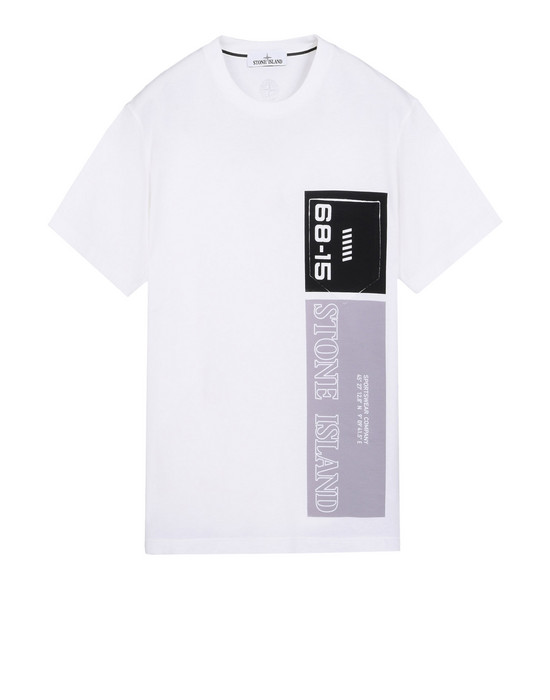 STONE ISLAND Short sleeve t-shirt 23788 GRAPHIC NINE