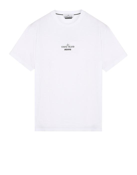 STONE ISLAND Short sleeve t-shirt 2NS91 STONE ISLAND ARCHIVIO PROJECT<br>RASO GOMMATO