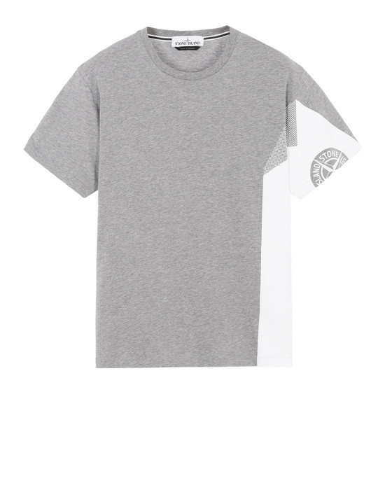 STONE ISLAND Short sleeve t-shirt 2NS85 GRAPHIC FIVE_FOLDED