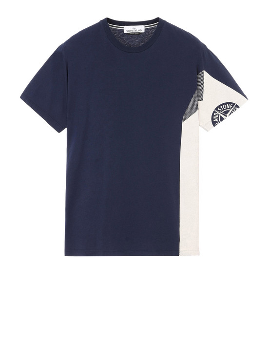 Short sleeve t-shirt 2NS85 GRAPHIC FIVE_FOLDED STONE ISLAND - 0