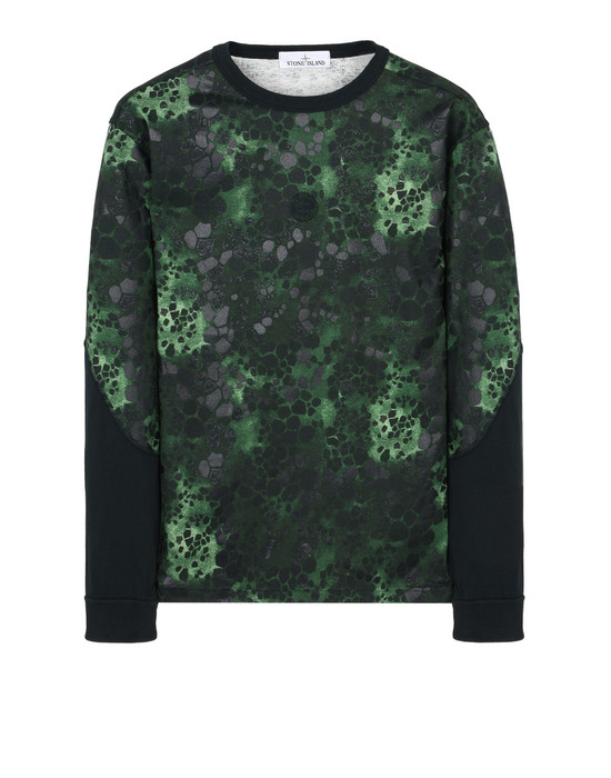STONE ISLAND Long sleeve t-shirt 235E3 ALLIGATOR CAMO