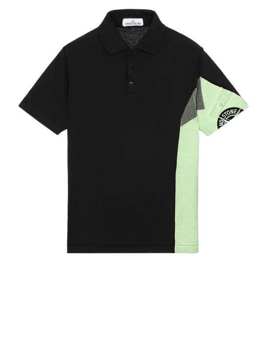 STONE ISLAND Polo shirt 20585 GRAPHIC SIX_FOLDED