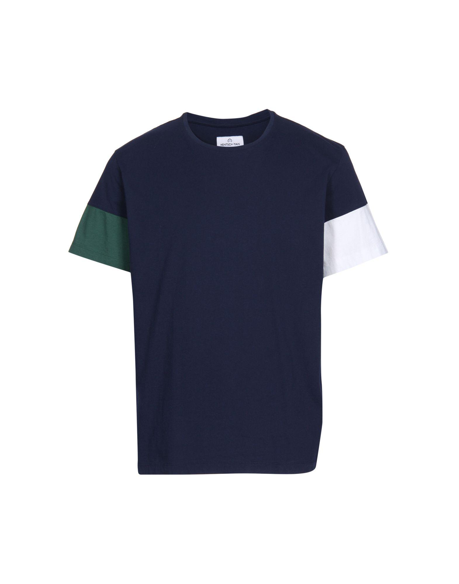 HENTSCH MAN T-Shirts in Dark Blue