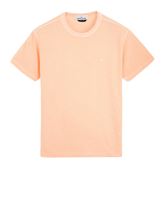 Short sleeve t-shirt 20453 'FISSATO' DYE TREATMENT STONE ISLAND - 0