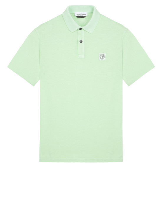 Polo 22257 'FISSATO' DYE TREATMENT STONE ISLAND - 0