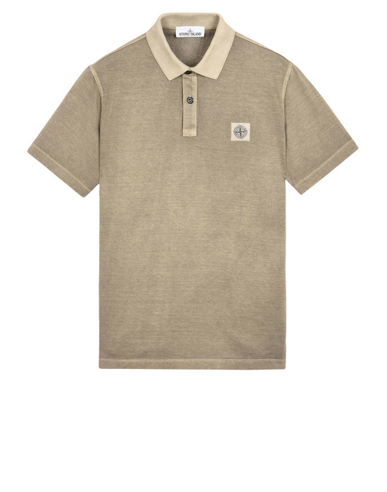 STONE ISLAND Polo shirt 22257 'FISSATO' DYE TREATMENT