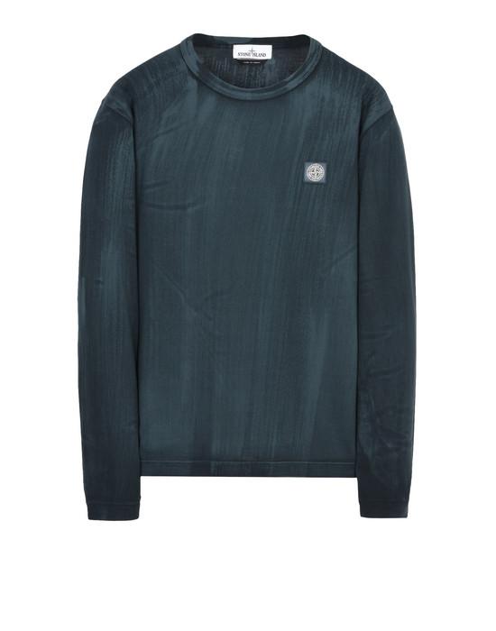 STONE ISLAND Long sleeve t-shirt 22766 HAND BRUSHED COLOR TREATMENT