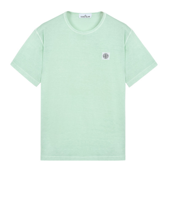 Short sleeve t-shirt 22357 'FISSATO' DYE TREATMENT STONE ISLAND - 0