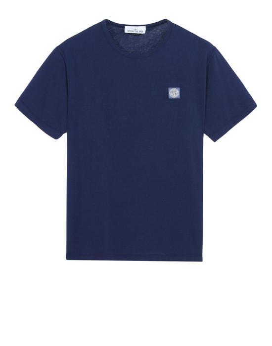 STONE ISLAND Short sleeve t-shirt 22357 'FISSATO' DYE TREATMENT