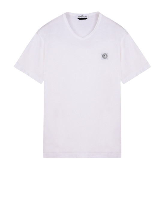 STONE ISLAND Short sleeve t-shirt 22457 'FISSATO' DYE TREATMENT