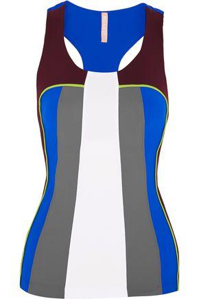 NO KA 'OI Moku color-block stretch-jersey top