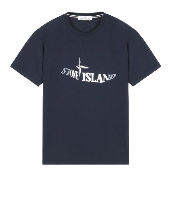 반소매 티셔츠 2NS92 GRAPHIC TWELVE STONE ISLAND - 0