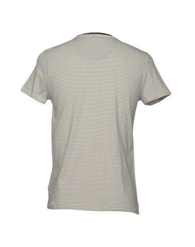 Фото 2 - Женскую футболку 40WEFT белого цвета