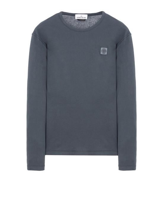 STONE ISLAND Long sleeve t-shirt 24557 'FISSATO' DYE TREATMENT