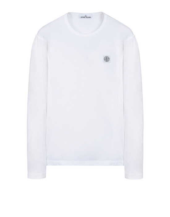 STONE ISLAND Long sleeve t-shirt 24557 'FISSATO' DYE TREATMENT