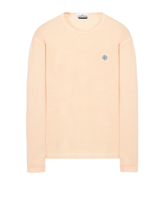Long sleeve t-shirt 24557 'FISSATO' DYE TREATMENT STONE ISLAND - 0