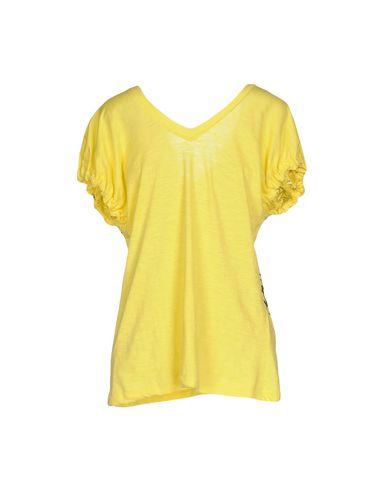 Фото 2 - Женскую футболку  желтого цвета
