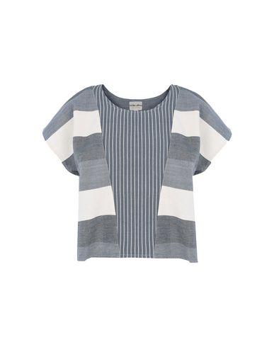Фото - Женскую блузку TRIBE ALIVE грифельно-синего цвета