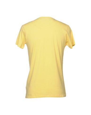 Фото 2 - Женскую футболку LIU •JO MAN желтого цвета