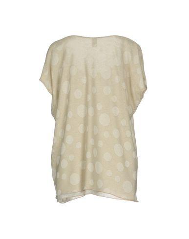 Фото 2 - Женскую футболку JIJIL бежевого цвета