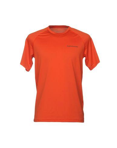 Фото - Женскую футболку PEAK PERFORMANCE оранжевого цвета