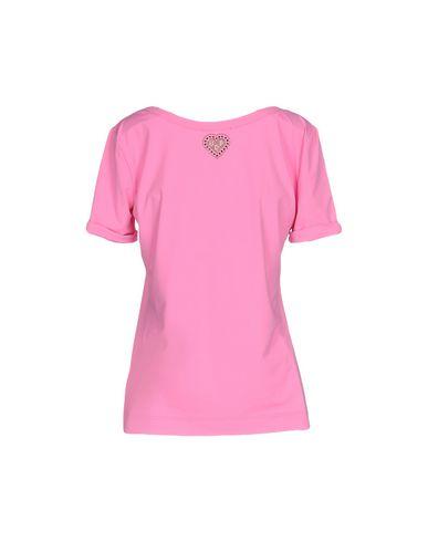 Фото 2 - Женскую футболку VDP BEACH розового цвета