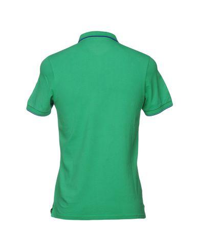 Фото 2 - Мужское поло SHOCKLY зеленого цвета