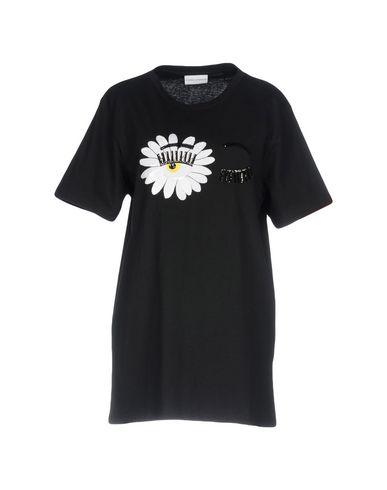 Фото - Женскую футболку CHIARA FERRAGNI черного цвета