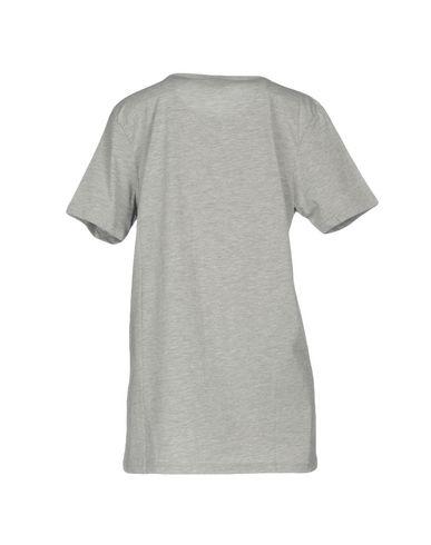 Фото 2 - Женскую футболку CHIARA FERRAGNI светло-серого цвета