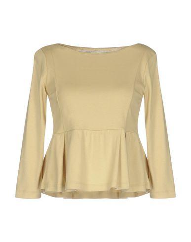 Фото - Женскую футболку MAISON LAVINIATURRA бежевого цвета