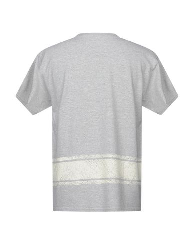 Фото 2 - Женскую футболку THE EDITOR светло-серого цвета