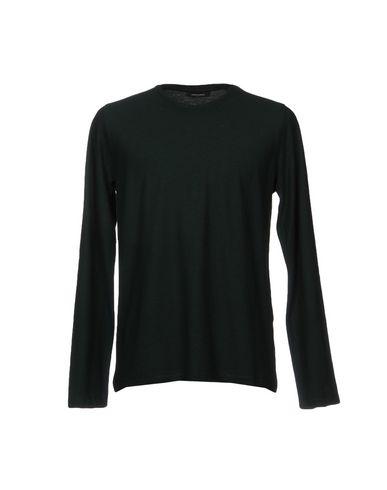 Фото - Женскую футболку ROBERTO COLLINA темно-зеленого цвета