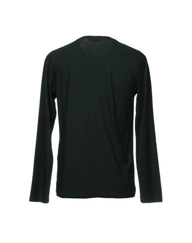 Фото 2 - Женскую футболку ROBERTO COLLINA темно-зеленого цвета