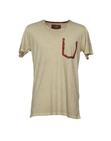 Купить Женскую футболку RUDERIDERS бежевого цвета