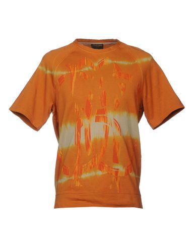 Фото - Мужскую толстовку ROBERTO CAVALLI GYM оранжевого цвета