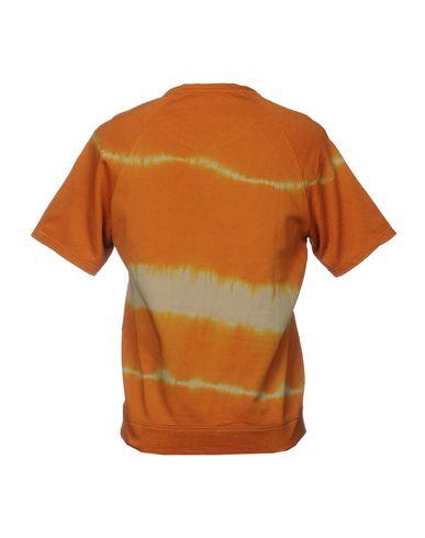 Фото 2 - Мужскую толстовку ROBERTO CAVALLI GYM оранжевого цвета