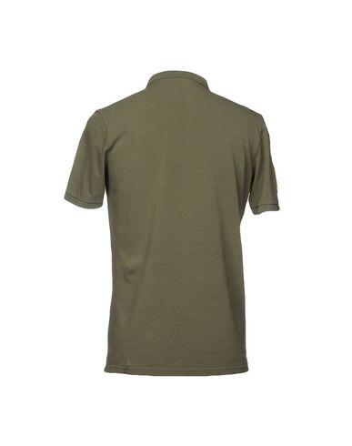 Фото 2 - Мужское поло AUTHENTIC ORIGINAL VINTAGE STYLE цвет зеленый-милитари