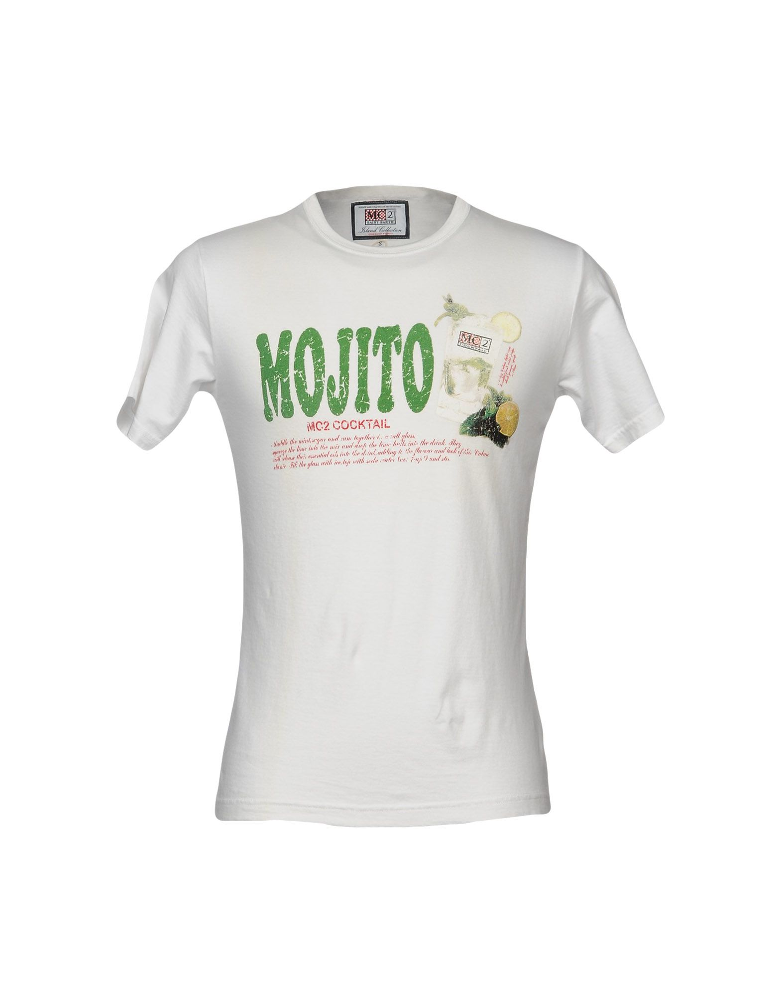 MC2 SAINT BARTH Футболка au soleil de saint tropez футболка