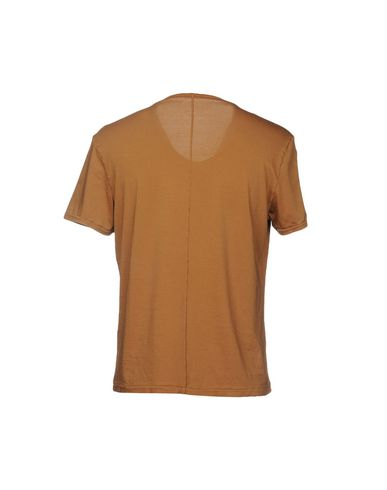 Фото 2 - Женскую футболку BARENA коричневого цвета