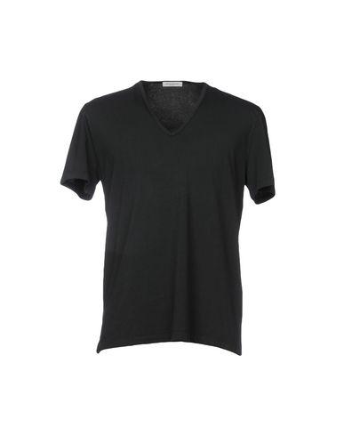 Купить Женскую футболку PAOLO PECORA черного цвета