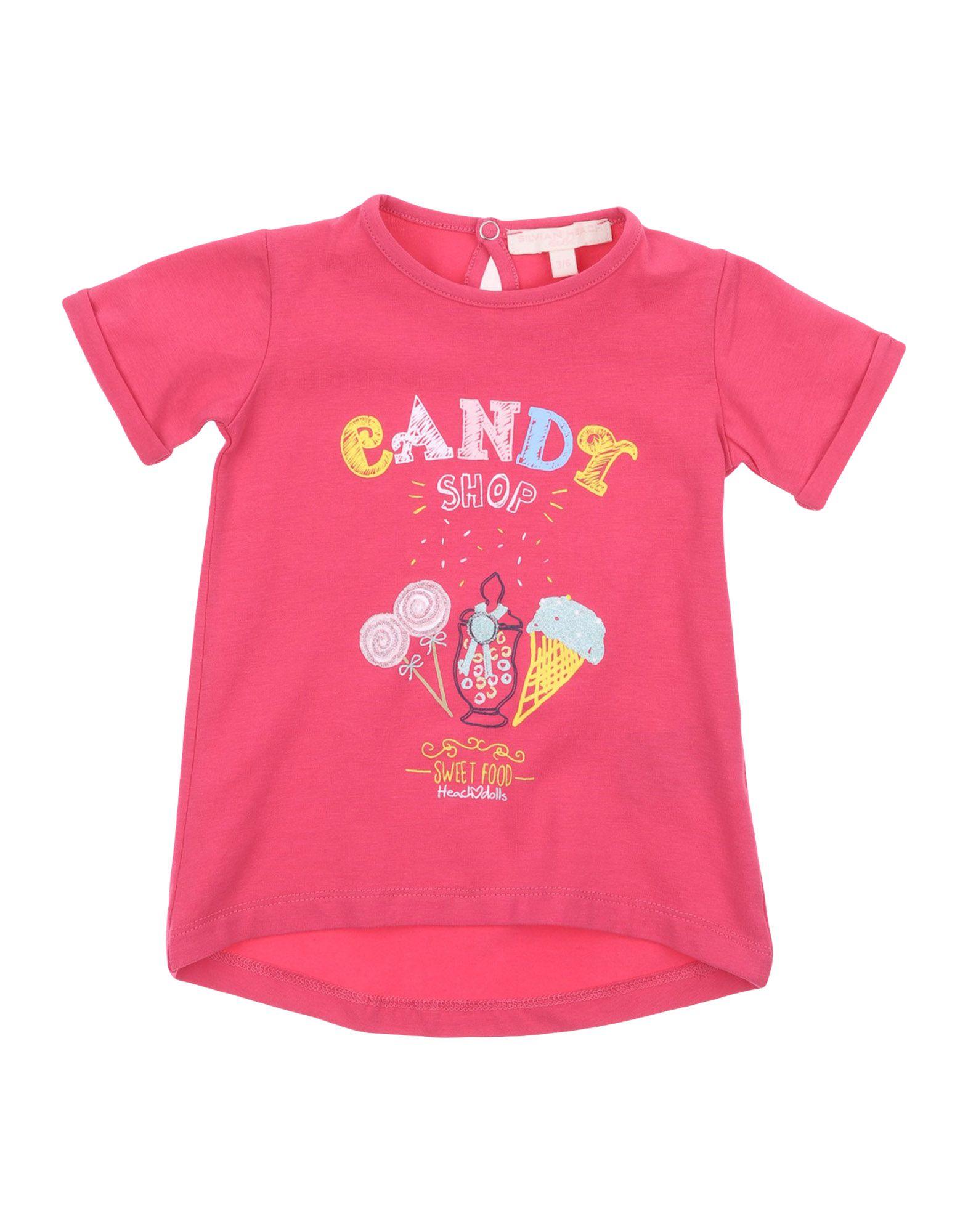 Silvian Heach Kids' T-shirts In Pink