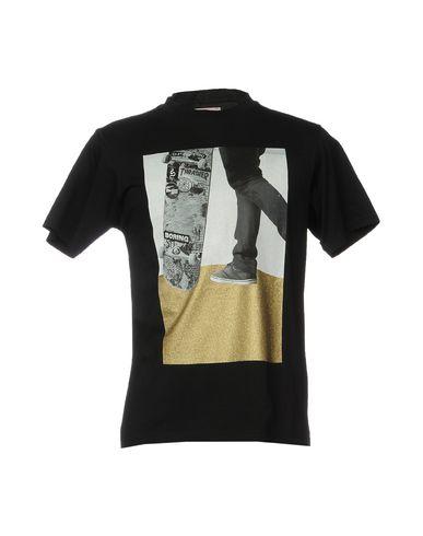 Фото - Женскую футболку PALM ANGELS черного цвета