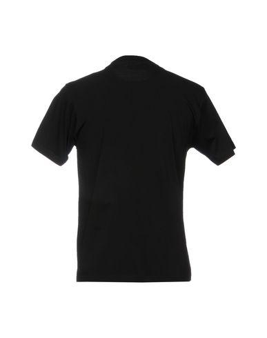 Фото 2 - Женскую футболку PALM ANGELS черного цвета