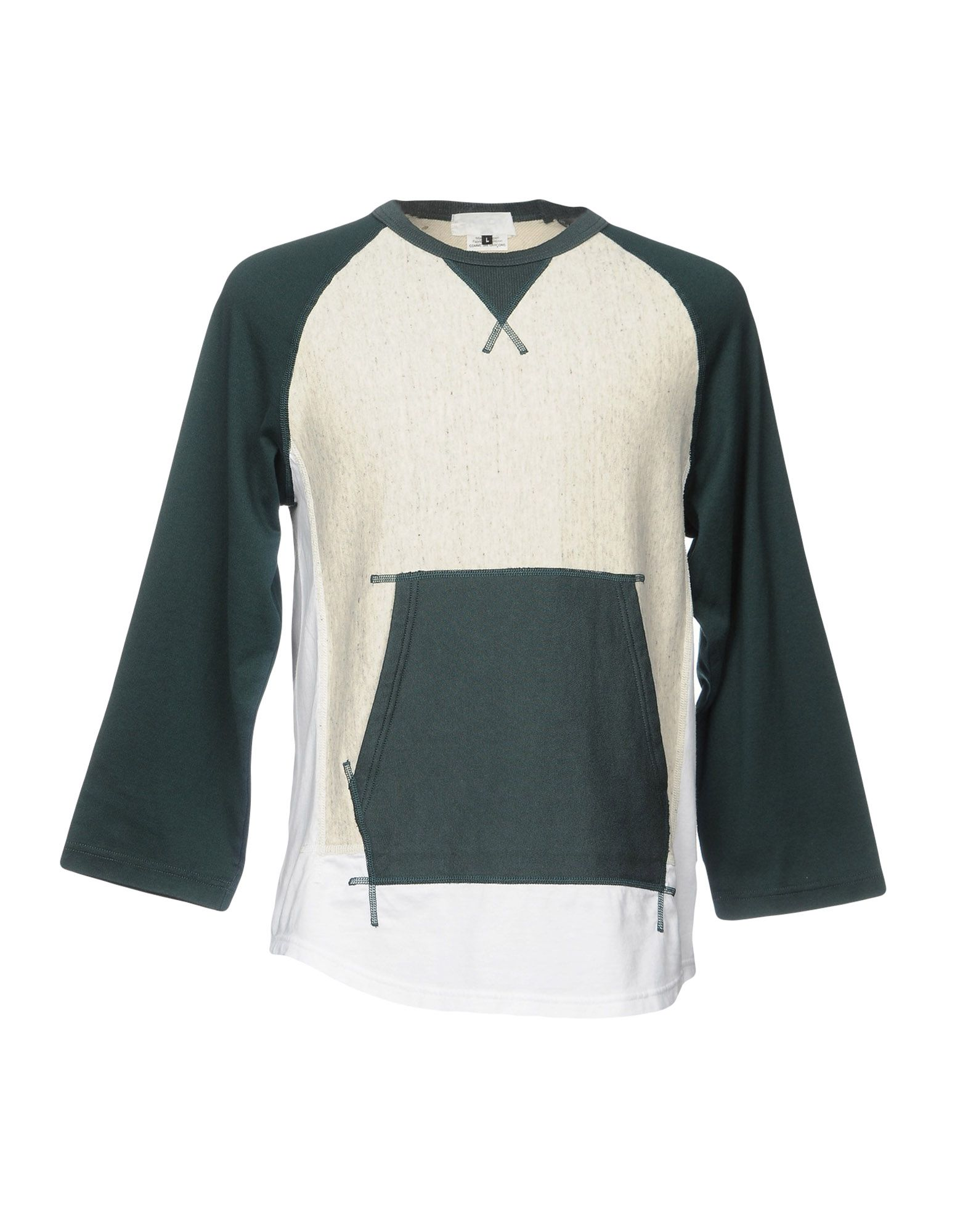 GANRYU Sweatshirt in Green