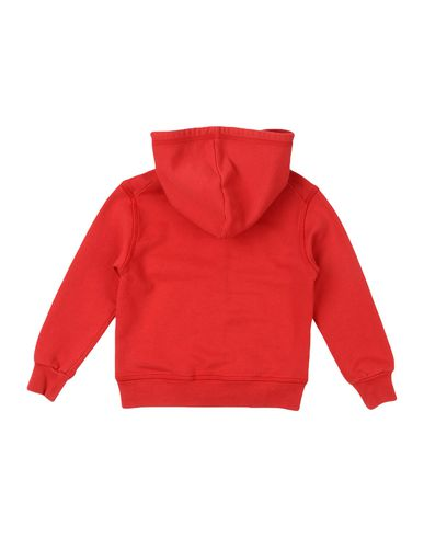 DSQUARED2 Jungen Sweatshirt Rot Größe 4 100% Baumwolle